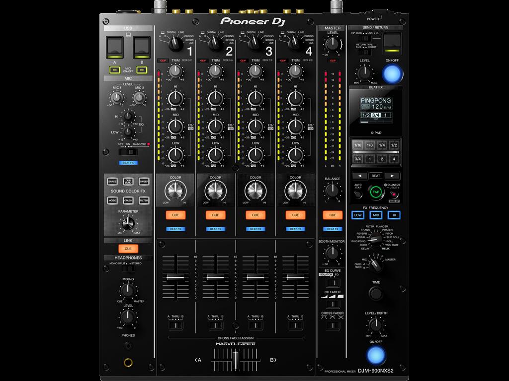 Pioneer DJM 900 nexus 2 mixer huren Noordwijk