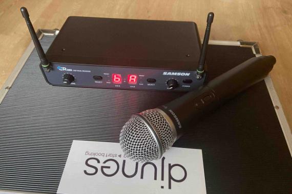 Samson CR288 draadloze microfoon huren